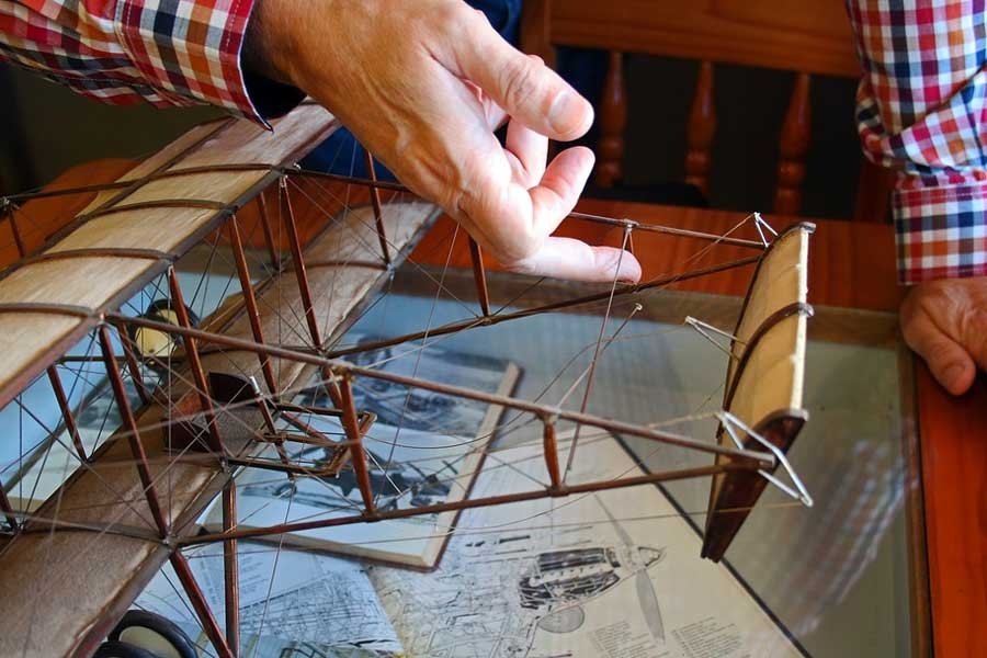 Wie man das perfekte Modellflugzeug baut - Wie man das perfekte Modellflugzeug baut